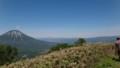 [留寿都][尻別岳] 羊蹄山・背後に積丹方面
