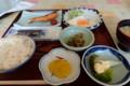 [上川][温泉][宿飯] 朝食