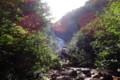 [清里][斜里岳] 羽衣の滝が見えてくる
