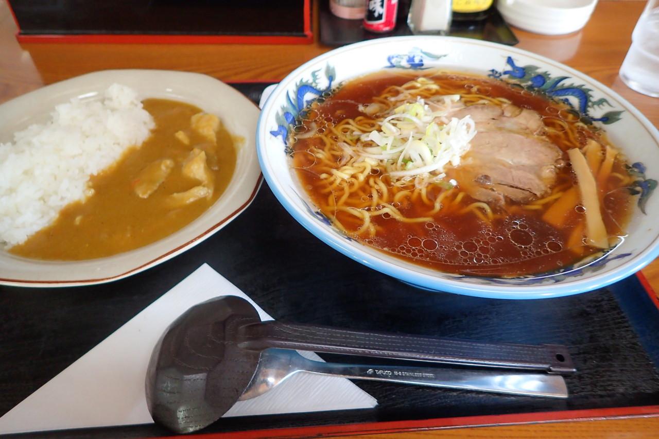 美鈴食堂 しょうゆ+小カレーセット