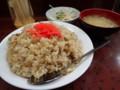 [札幌][定食] 七福食堂 チャーハン中盛り