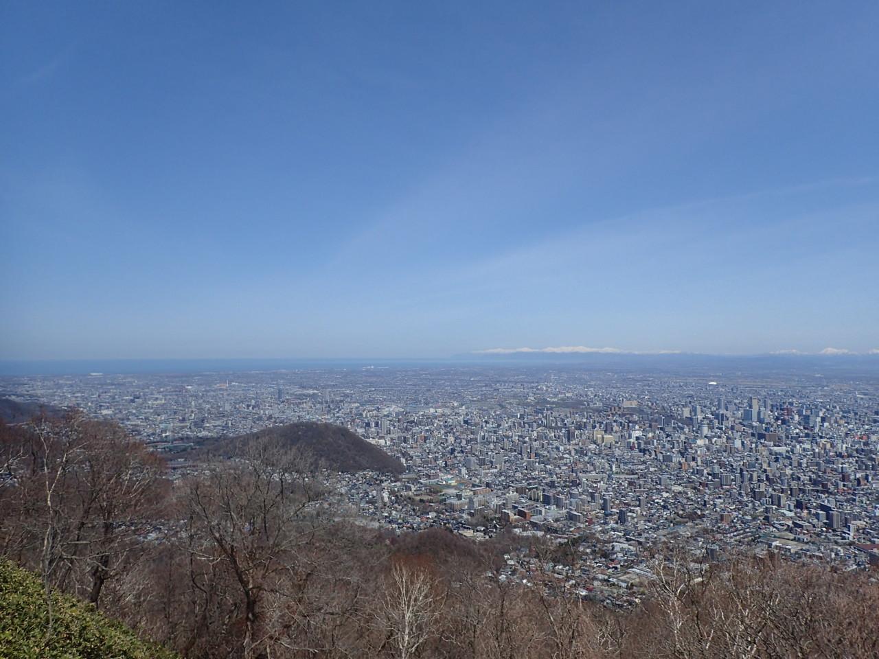 札幌北部と石狩湾