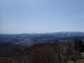 [札幌][藻岩山] 正面恵庭岳、左に樽前山、右に空沼岳