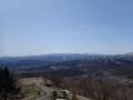 [札幌][藻岩山] 奥の右側に札幌岳