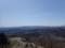 奥の右側に札幌岳