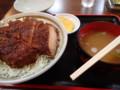 [長野][カツ丼]中華料理きよし カツ丼