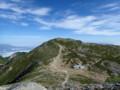 [長野][木曽駒ケ岳]中岳から見る木曽駒