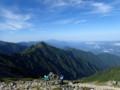 [長野][木曽駒ケ岳]南西側稜線