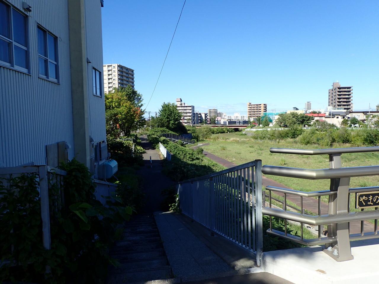 西野-新川未整備区間を走ってみる