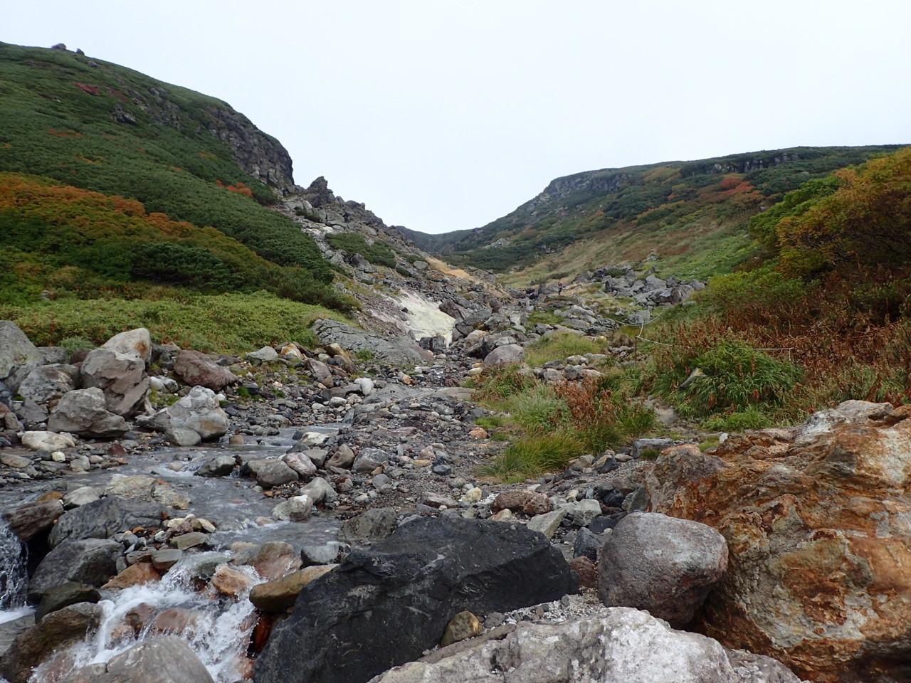 中岳温泉へ