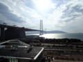 [兵庫]展望コーナーから見る明石海峡大橋