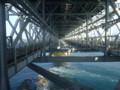 [徳島]橋の下部にある回廊