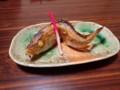[島牧][温泉][宿飯]謎の焼き魚