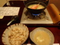 [東川][温泉][宿飯]鍋・食事