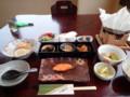 [東川][温泉][宿飯]朝食膳