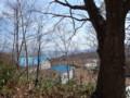 [小樽]木々からのぞく銭函海岸