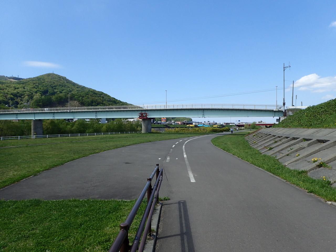 豊平川サイクリング園路
