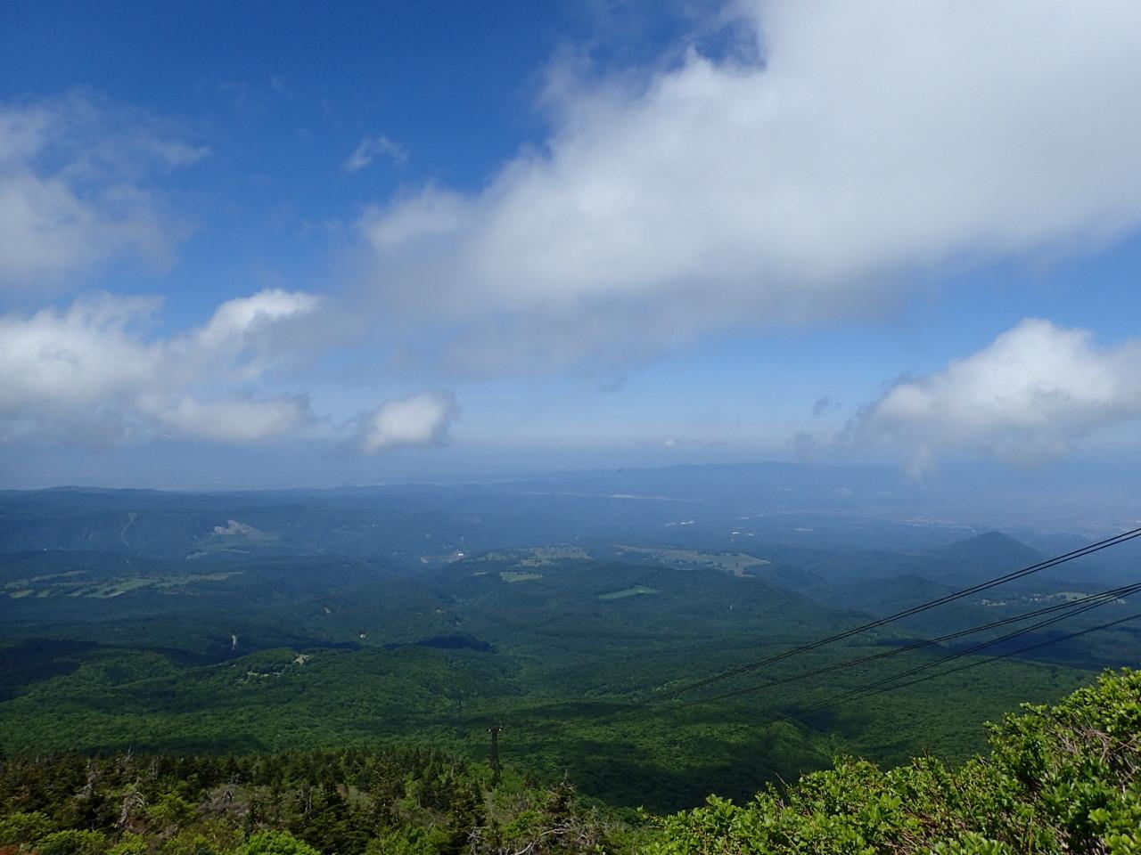 山頂駅からの景色・3