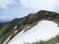 [青森][八甲田山]稜線に出る
