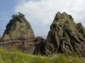[豊浦]海に落ち込む岩・1