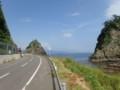 [豊浦]海に落ち込む岩・2