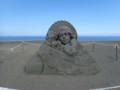 [石狩]メイン砂像