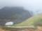 桂月岳にかかる虹