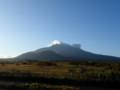 [利尻富士町]朝の利尻山