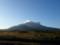 朝の利尻山
