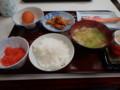 [室蘭][宿飯]朝食膳