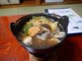 [瀬棚][温泉][宿飯]あんこう鍋