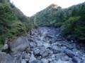 [鹿児島][屋久島][縄文杉]川に転がる花崗岩
