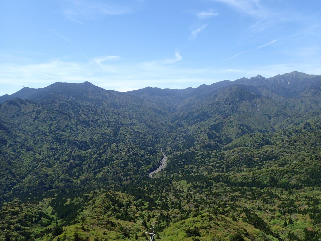 太鼓岩からの景色
