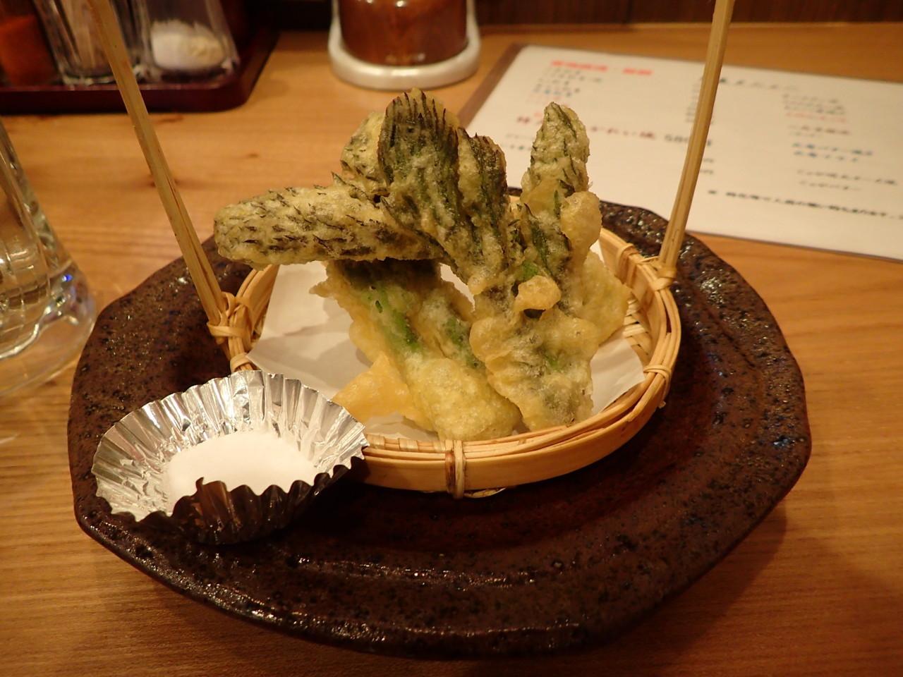 たらの芽天ぷら
