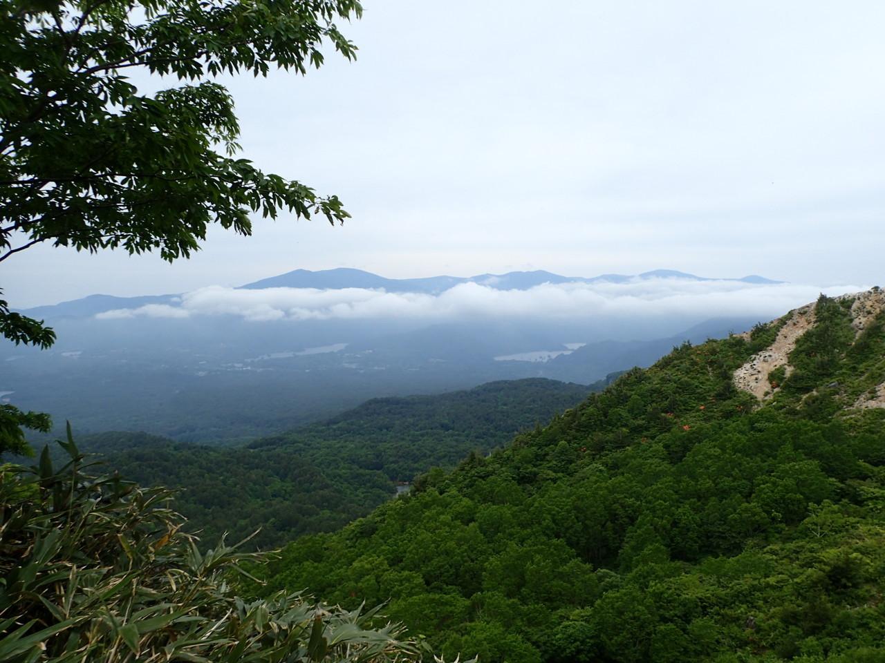 裏磐梯の景色