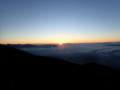 [長野][岐阜][乗鞍岳]雲海から御来光