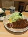 [東京]蒲田 とんかつ 丸一 ロースカツ定食