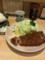 蒲田 とんかつ 丸一 ロースカツ定食