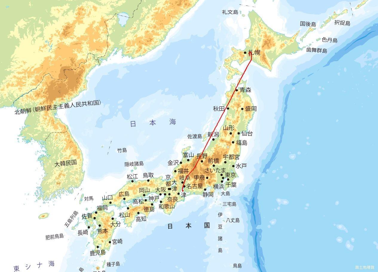 NGO→CTS航路