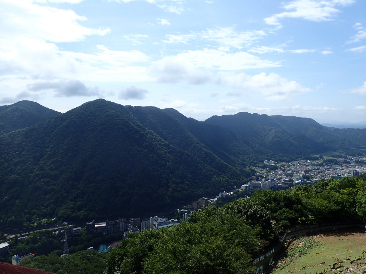 山々@鬼怒川温泉ロープウェイ