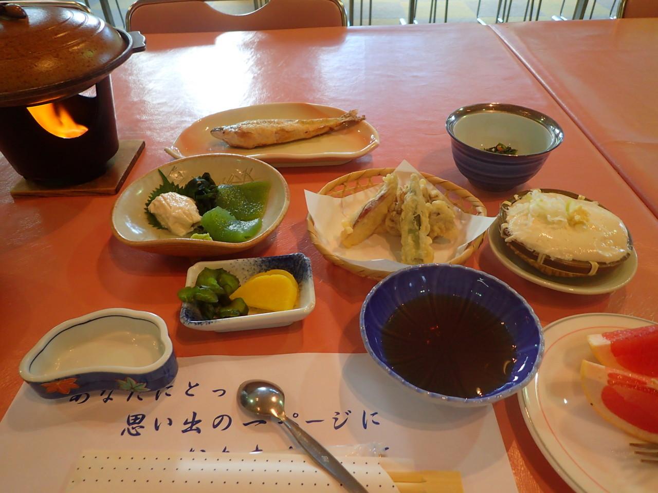 1日め夕食