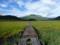 燧ヶ岳に続く木道