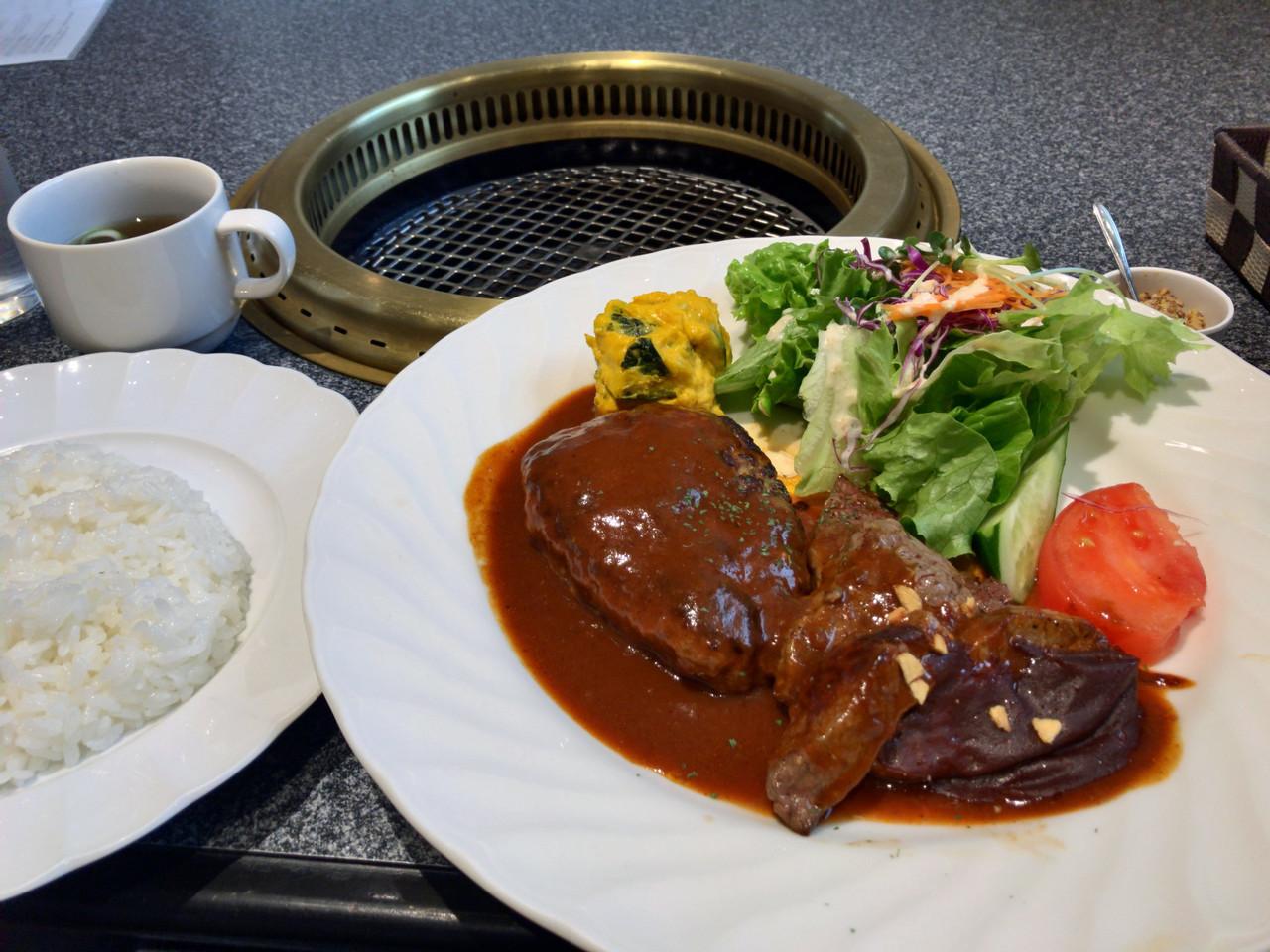肉の割烹田村 ダブルステーキランチ