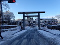 [岩手][盛岡城]桜山神社参道