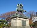 [東京][江戸城]楠公像