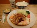 [東京]とんかつ八千代 チャーシューエッグ定食