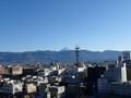 [山梨][甲府城]富士山