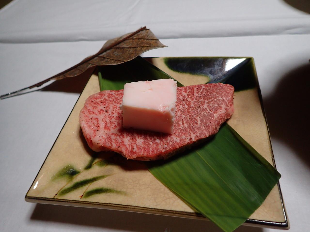 飛騨牛ステーキ