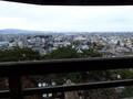 [福井][丸岡城]天守からの眺め