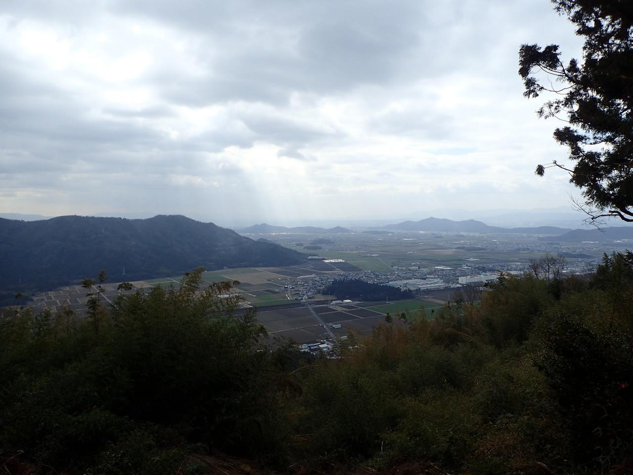 観音正寺からの眺め